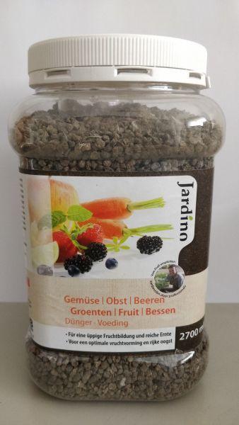 Jardino Dünger für Gemüse, Obst, Beeren 1,7 Kg