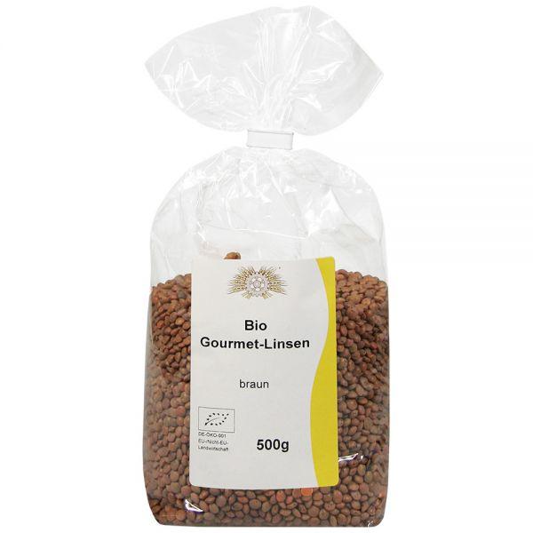 Bio Gourmet-Linsen 500g