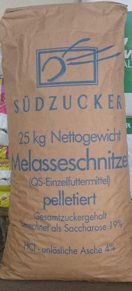 Melasseschnitzel pelletiert 25 Kg